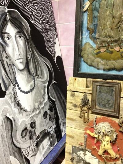 Déesse et autel vaudou
